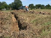 KC8JEV digging.